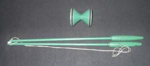 GreenTwinTopDiabolo